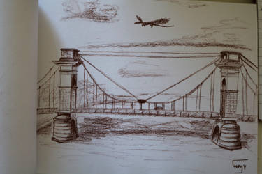 Vitry-Sur-Seine's Bridge by Shayaga