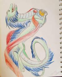Chinese Dragon by Shayaga