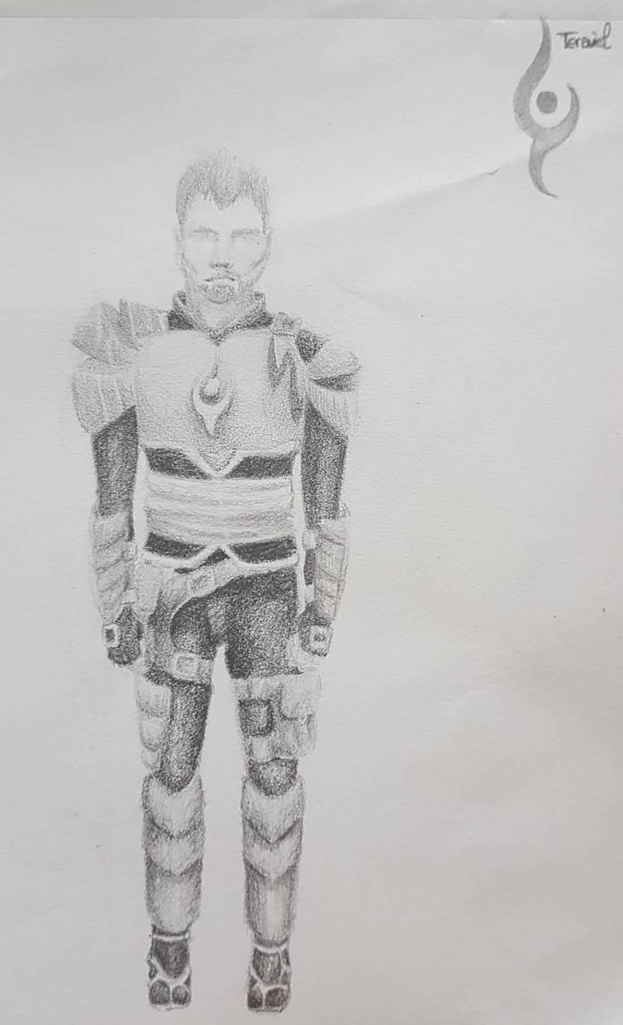 Treyst, emperor of Tenaviel  by Shayaga