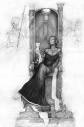 Emperatriz del Tiempo... by Ilustralia
