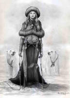 Dama de las Nieves by Ilustralia