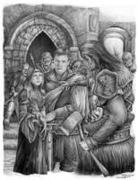 Guardia Negra by Ilustralia