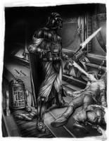 Darth Vader by Ilustralia