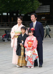 Japanese Family by NinaJAM
