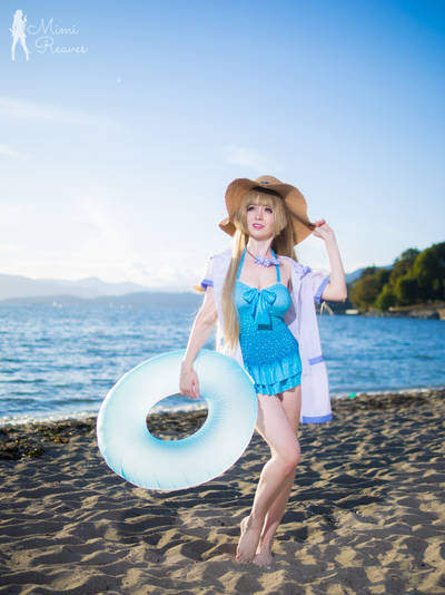 Kotori at the Beach by MimiReaves
