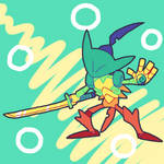 Fan Gem - Ammolite by ChrysoMal