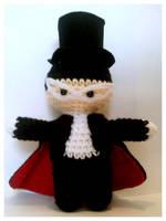 Tuxedo Mask Amigurumi by pirateluv