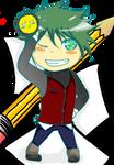 Mascot 8D whut by KyrioiB