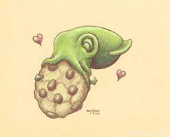 Cookie Squid by MegLyman