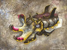 Flamboyant Cuttlefish by MegLyman
