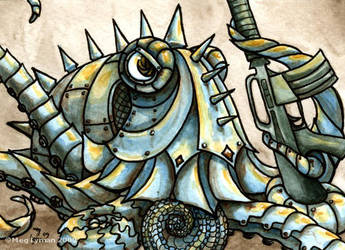 Full Metal Octopus by MegLyman