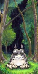 Totoro by MegLyman