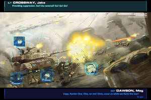 Armored Assault: Closing in by KajiTetsushi