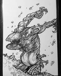 Zombie/Elemental Token by Lordmarshal