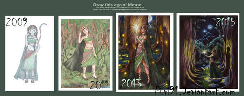 Draw/Paint it again (and again and again): Aina by Pilvi91