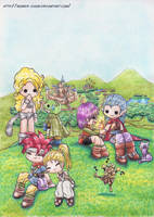 Chrono Trigger by Milaby