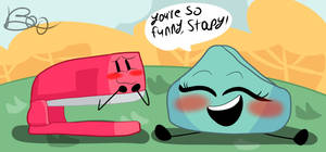 [Battle for BFDI] Stapy and Foldy by TheoLoves