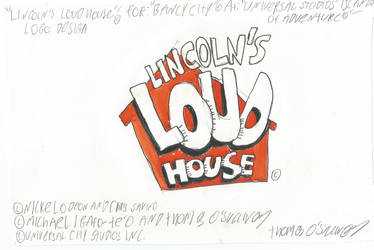 Lincoln's Loud House Logo Design by Toonman1508