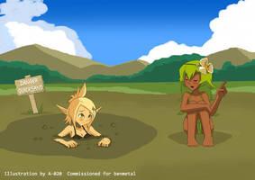 Wakfu - Quicksand #3 by A-020