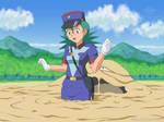 Pokemon Episode - Officer Jenny Quicksand Scene by A-020