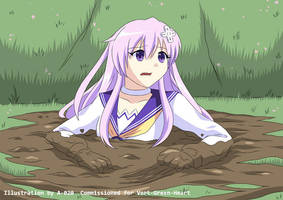 Nepgear in Quicksand 03 by A-020