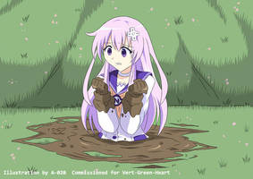 Nepgear in Quicksand 02 by A-020