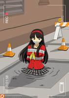 Yukiko Amagi in Cement 02 by A-020