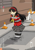 Yukiko Amagi in Cement 01 by A-020