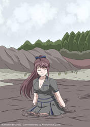 School Girl Quicksand 02 by A-020