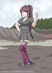 School Girl Quicksand 01 by A-020