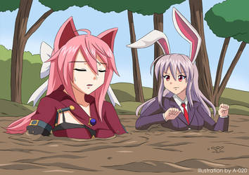 Reisen and Shina in Quicksand 03 by A-020