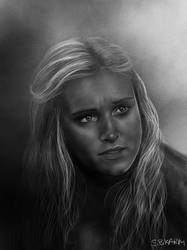 Clarke Griffin - The 100 by SBKARM