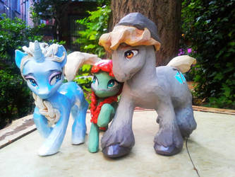 Frozen Pony Group Shot by carlotta-guidicelli