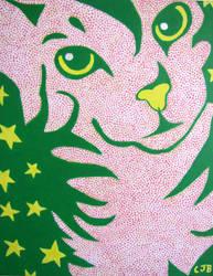 Starry Cat by cjbrinin