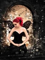 Dark Fairy by KlaraKay