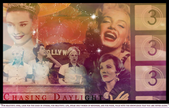 Vintage Hollywood Graphic by motochick