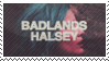 Halsey Badlands Stamp F2U by amberisrad