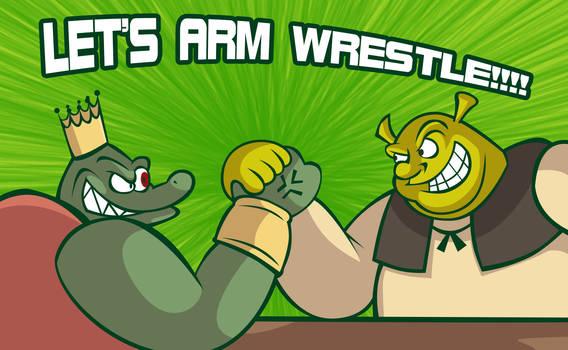 Arm Wrestling! by eKarasz