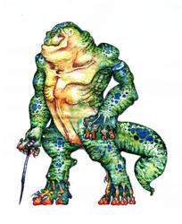 alligatorman by elCounto