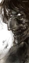 Titan Eren doodle by zoklock