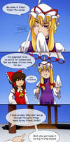 Touhou( x Undertale) Comics: Welp by aimturein