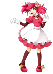 mad mew mew but she is not mad by aimturein