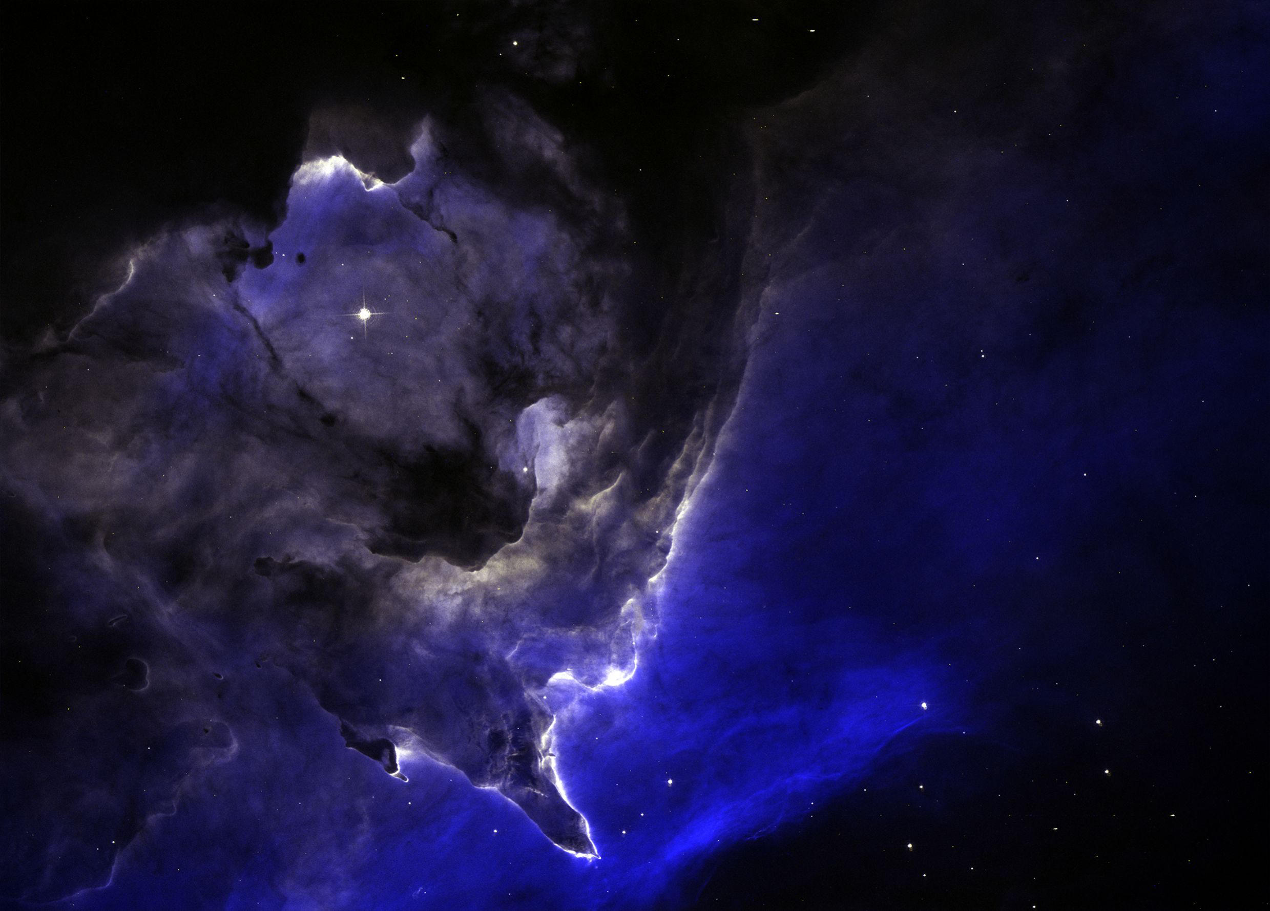 A larger section of NGC6357 [Real Space] by omniomi