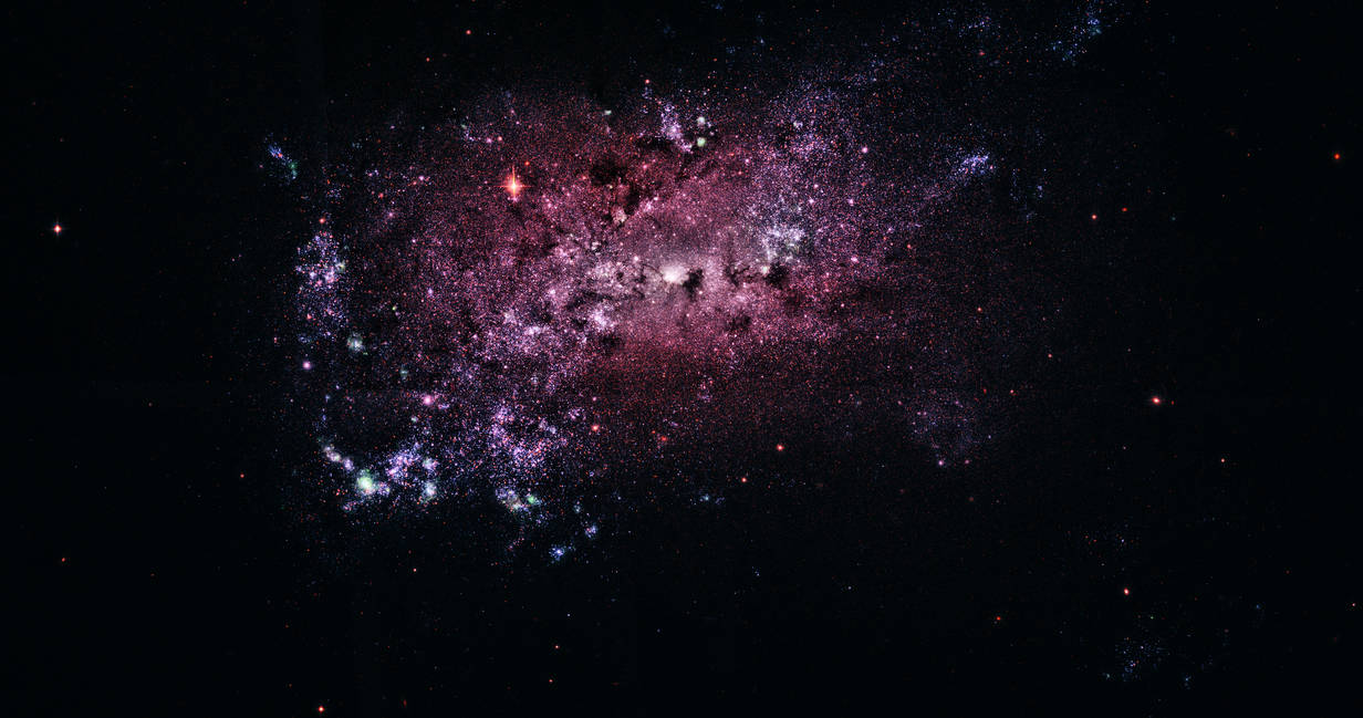 NGC 4449 [Real Space] by omniomi