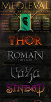 Medieval Text Effect 2 of 2 by fluctuemos