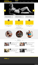 Fitness page by greymetallcat