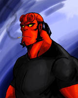 HellBoy  by jokerlover94