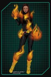 Magma - X-Men Evolution by ZoombieGrrll