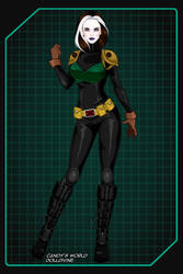 Rogue - X-Men Evolution by ZoombieGrrll