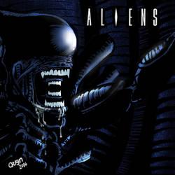 aliens by Orign by futprntsworkshop